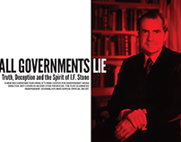 All Government Lie Screening Poster