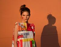 Eco fashion by Alexander Kopytov (MUA, idea - me)