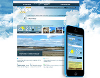Tempo Agora - Responsive Weather Web Site