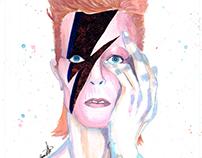 Ziggy Stardust Mixed Media