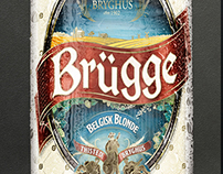 Brugge and Gent Eco Beer made for Thisted Brewery