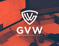 GVW - Gerenciamento Via Web / Logo Design