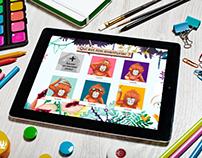 Dipongo - Application jeu créative pour les enfants