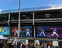 Environmental Graphics/ Stadium Banners