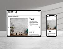 Website design for Bestile