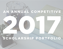 Competitive Scholarship Portfolio 2017