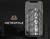 Landing page for Metrpole
