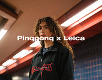 Pinqponq x Leica