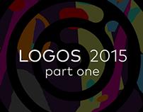 Various logo designs 2015, part one