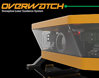 Overwatch Snowplow Laser Guidance System