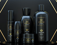 Cream Product Visualization 3D&Retouch