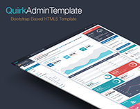 Quirk Responsive Admin Template
