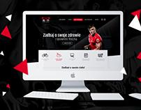 STP fitness webdesign