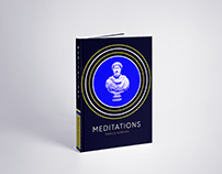 Book Cover Design - Meditations by Marcus Aurelius