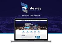 Communications Company Landing Page