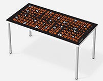 Display Typeface Table Designs
