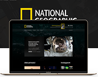 National Geographic - Website redesign
