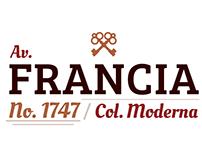 Francia 1747 - Logo