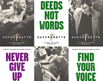 Suffragette - Creative Advertising
