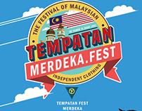 logo for tempatan fest merdeka