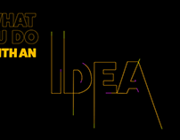 What do you do with an idea? Animation
