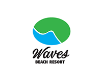Waves Resort logo