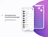 YOUCHAT - Convenient and functional messenger