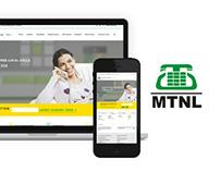 MTNL (Delhi) Redesign Concept