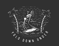 Yolo Down Under -Apparel Design