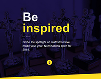 University Staff Oscars