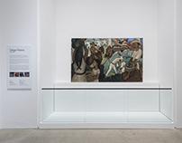 Diego Rivera Frescos Reinstallation