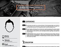 R!CH design (Web & Resume)