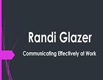 Randi Glazer - Customer Service Oriented