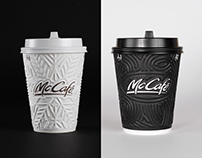 McCafe coffee cups