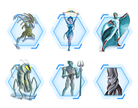 War Cluster Initial Characters
