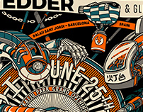 Eddie Vedder Poster コンサート