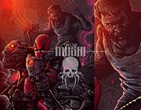 Marvel art for InkedupTattoo.Available on artprint