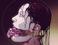 Flowers of Death VI.   personal illustration