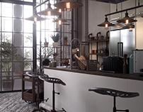 Budapest Industrial Kitchen