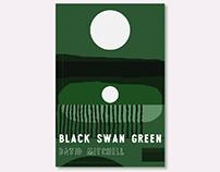 Black Swan Green book cover design