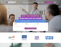 Ashfieldservices web design