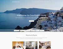 Courtyard Pro - WordPress Theme for Hotel