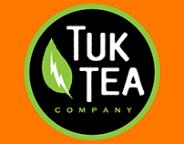 Tuk Tea Company Logo & Branding