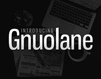 Free Font: Gnuolane