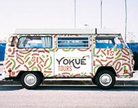 Yokué Tours Guanacaste | Branding