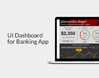 UI Dashboard - Banking App