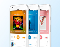 Colors Player App - UI/UX