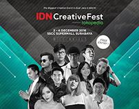 IDN CreativeFest Event Branding Design