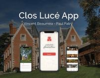 Clos Lucé App Concept