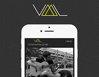 Víctor Martín Lozano // Identity & Responsive Website